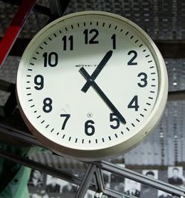Tchernobyl-horloge
