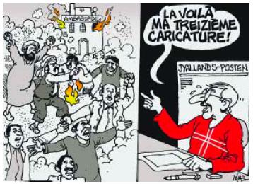 Caricatures populaires ayant des rapports sexuels