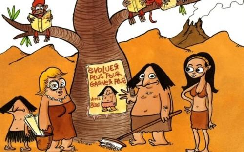 Jul-bande dessinée- silex- préhistoire