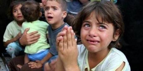 israel-gaza-enfants palestiniens-victimes-de-guerre