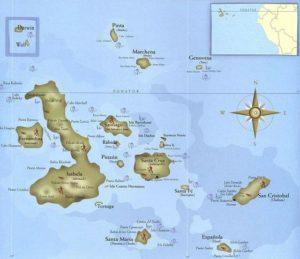 Galapagos-carte