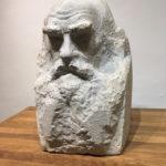 Paul-Dardé-Tolstoi-Lodeve (Chronique d'un été (le mien). 5) À Lodève, l'éblouissant Paul Dardé, tailleur de pierre)