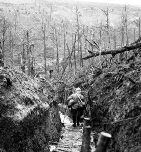Environ de la garnison de Verdun, début février 1916: Les Eparges, le ravin de la mort